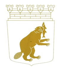The official seal of Härnösand.